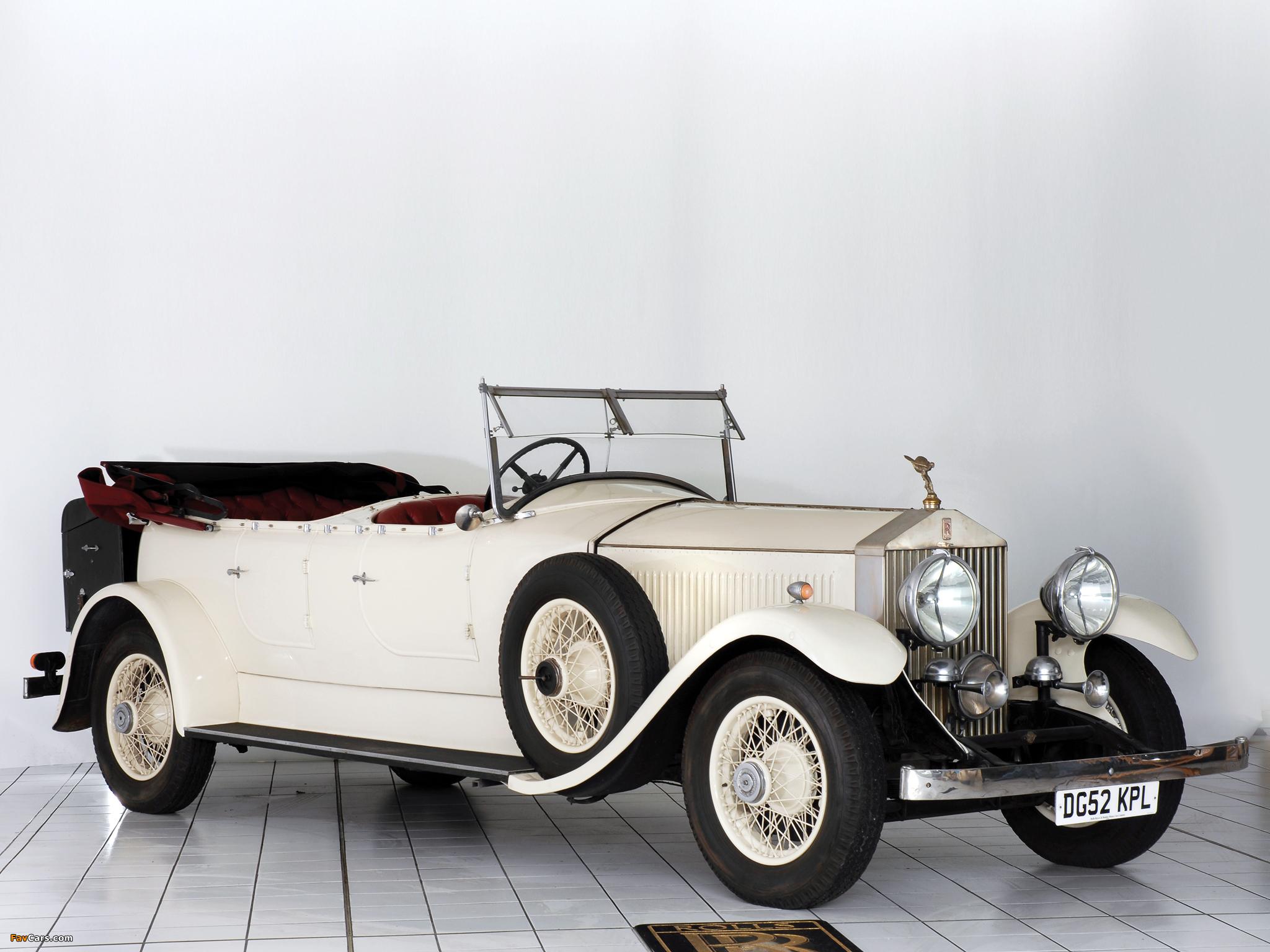 Rolls-Royce Phantom II 40/50 HP Open Tourer 1929 wallpapers (2048 x 1536)