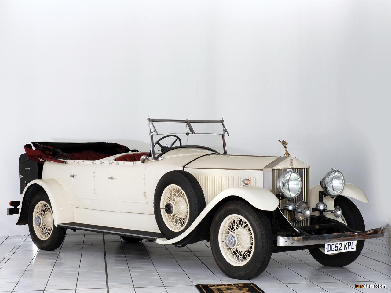 Rolls-Royce Phantom II 40/50 HP Open Tourer 1929 wallpapers (1280 x 960)