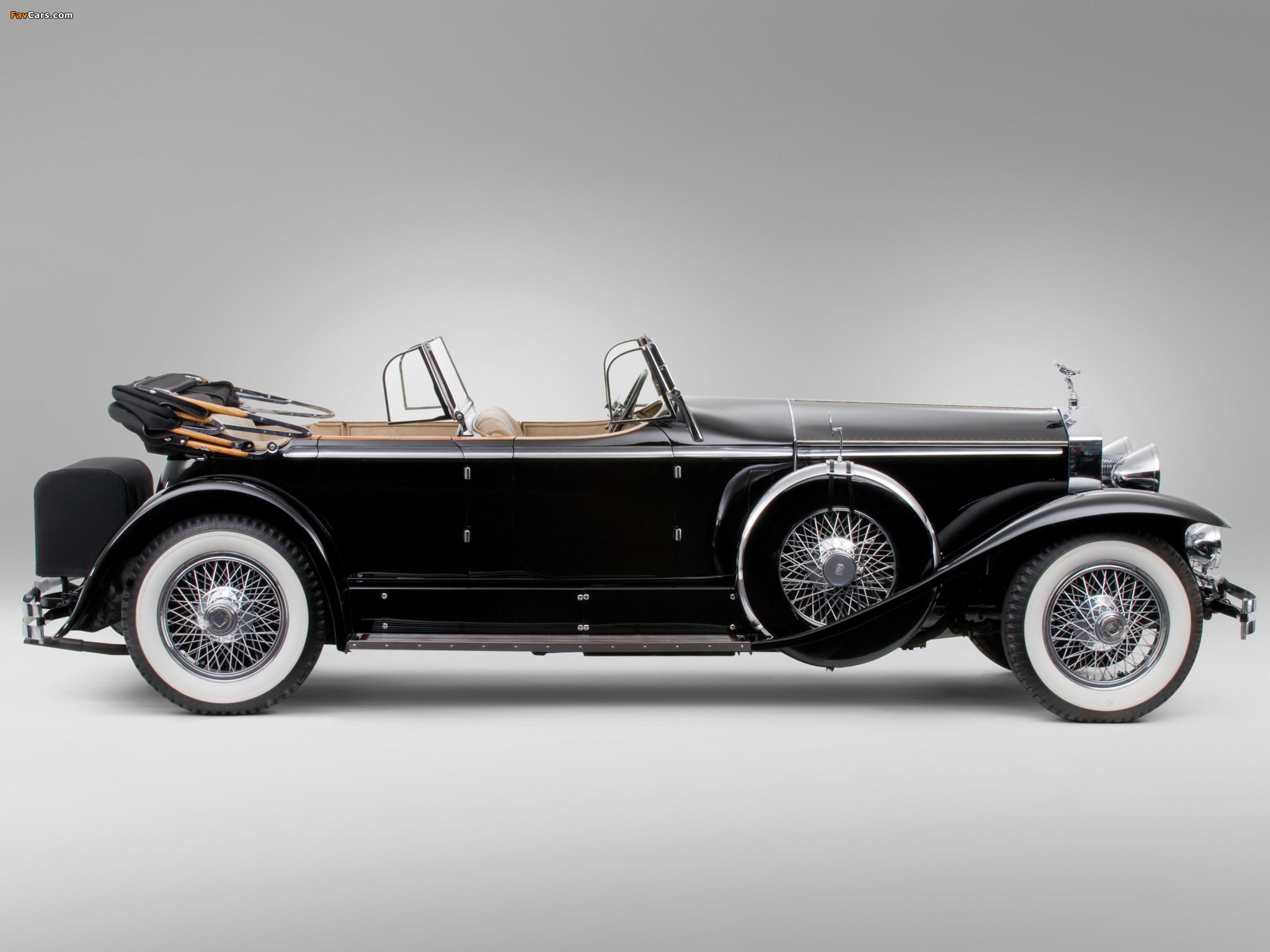 Rolls-Royce Springfield Phantom I Ascot Sport Phaeton by Brewster (S364LR-7174) 1929 wallpapers (2048 x 1536)