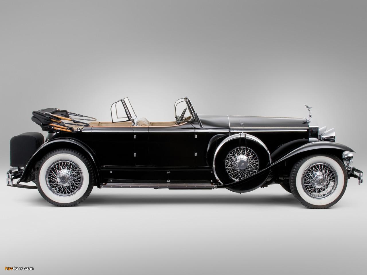 Rolls-Royce Springfield Phantom I Ascot Sport Phaeton by Brewster (S364LR-7174) 1929 wallpapers (1280 x 960)