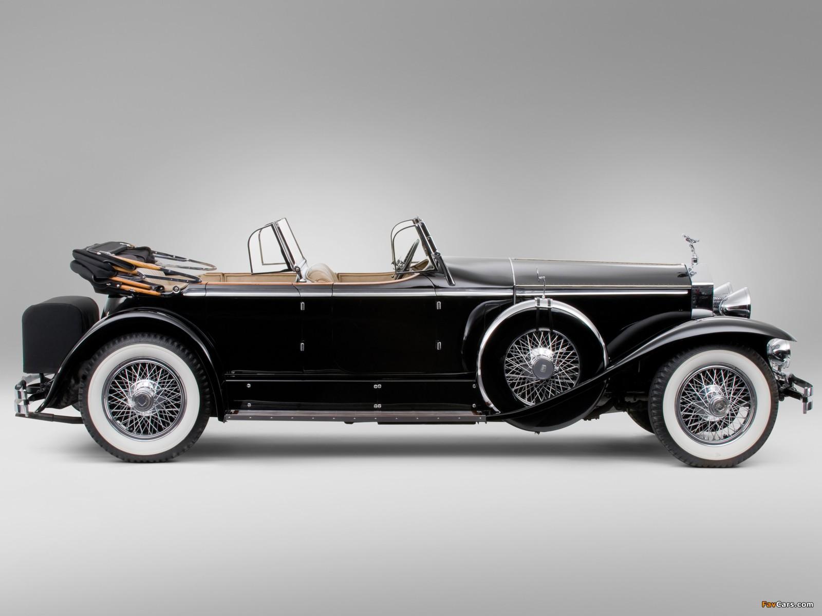 Rolls-Royce Springfield Phantom I Ascot Sport Phaeton by Brewster (S364LR-7174) 1929 wallpapers (1600 x 1200)