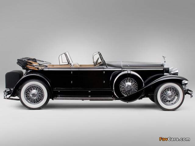 Rolls-Royce Springfield Phantom I Ascot Sport Phaeton by Brewster (S364LR-7174) 1929 wallpapers (640 x 480)