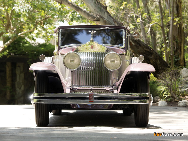 Rolls-Royce Phantom I Imperial Cabriolet by Hibbard & Darrin 1931 wallpapers (640 x 480)