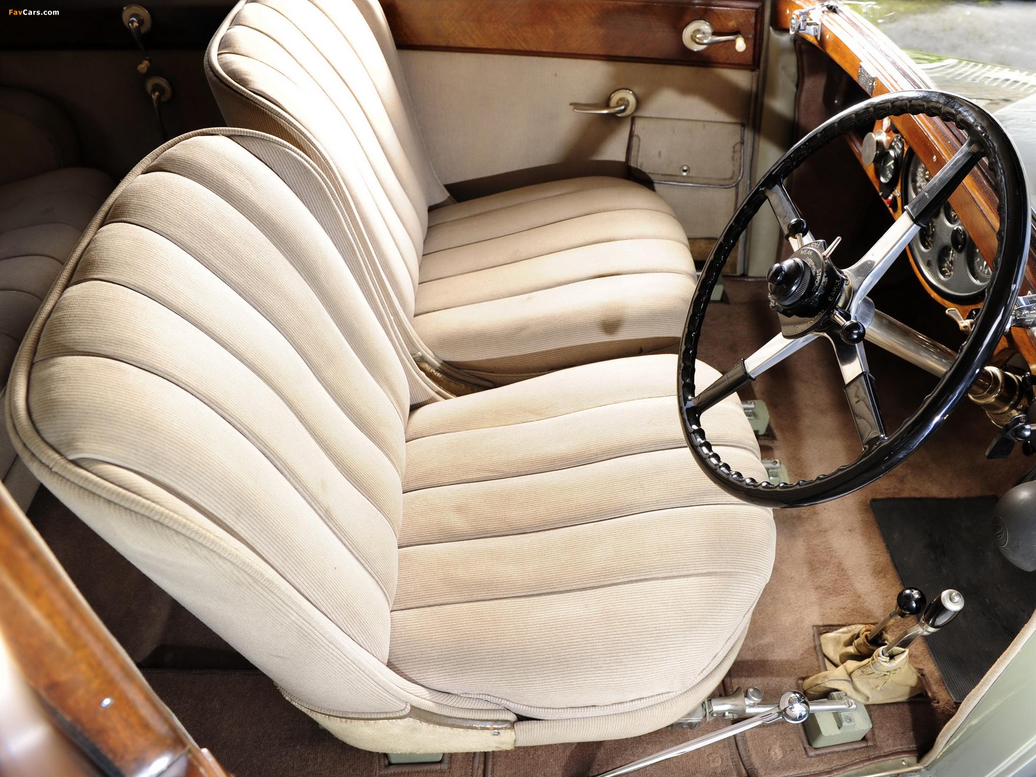 Rolls-Royce Phantom II 40/50 HP Saloon Limousine by Barker 1931 wallpapers (2048 x 1536)