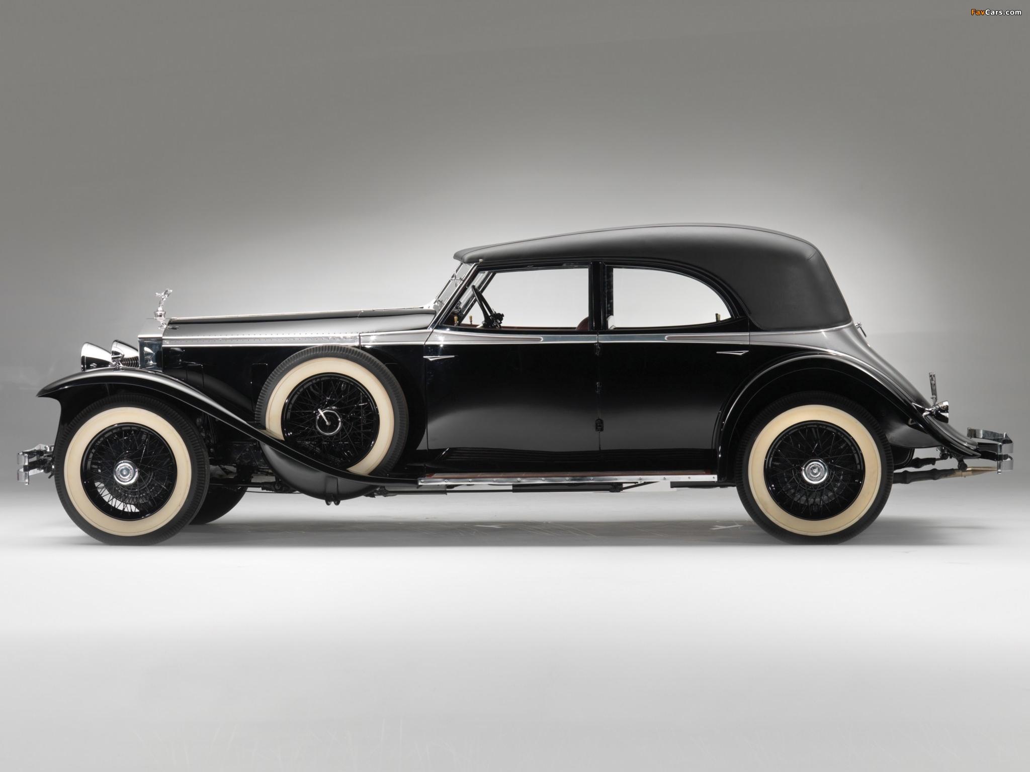 Rolls-Royce Phantom II Permanent Newmarket Sport Sedan 1932 wallpapers (2048 x 1536)