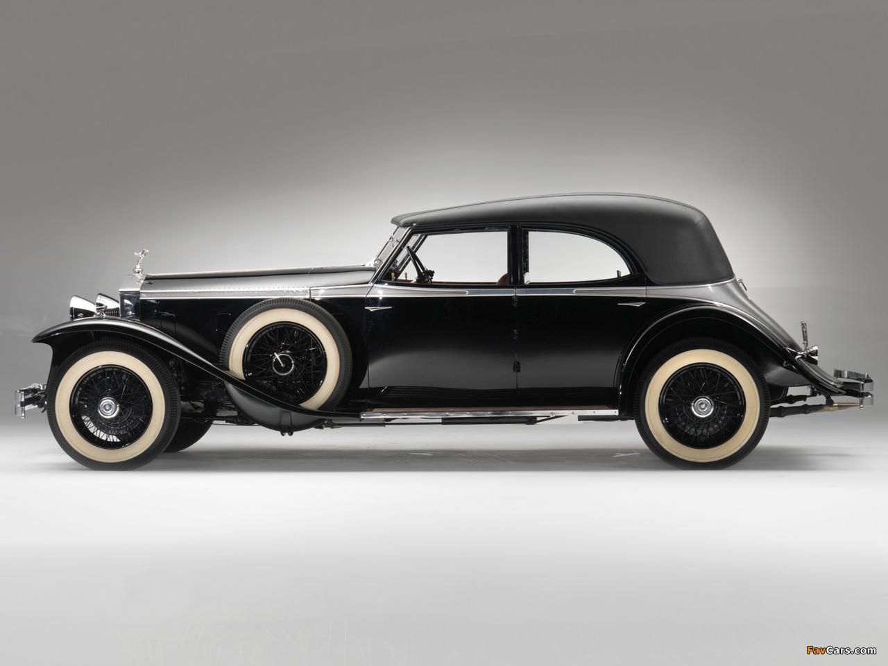 Rolls-Royce Phantom II Permanent Newmarket Sport Sedan 1932 wallpapers (1280 x 960)