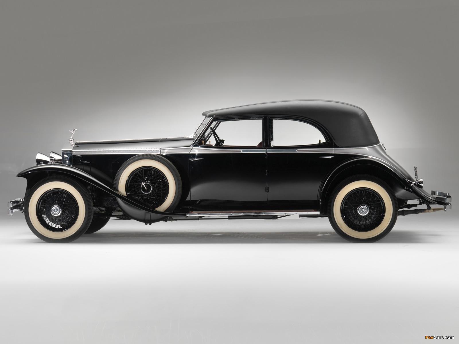 Rolls-Royce Phantom II Permanent Newmarket Sport Sedan 1932 wallpapers (1600 x 1200)