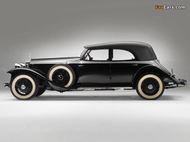 Rolls-Royce Phantom II Permanent Newmarket Sport Sedan 1932 wallpapers (640 x 480)