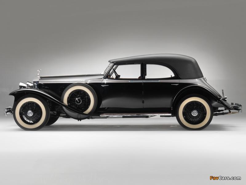 Rolls-Royce Phantom II Permanent Newmarket Sport Sedan 1932 wallpapers (800 x 600)