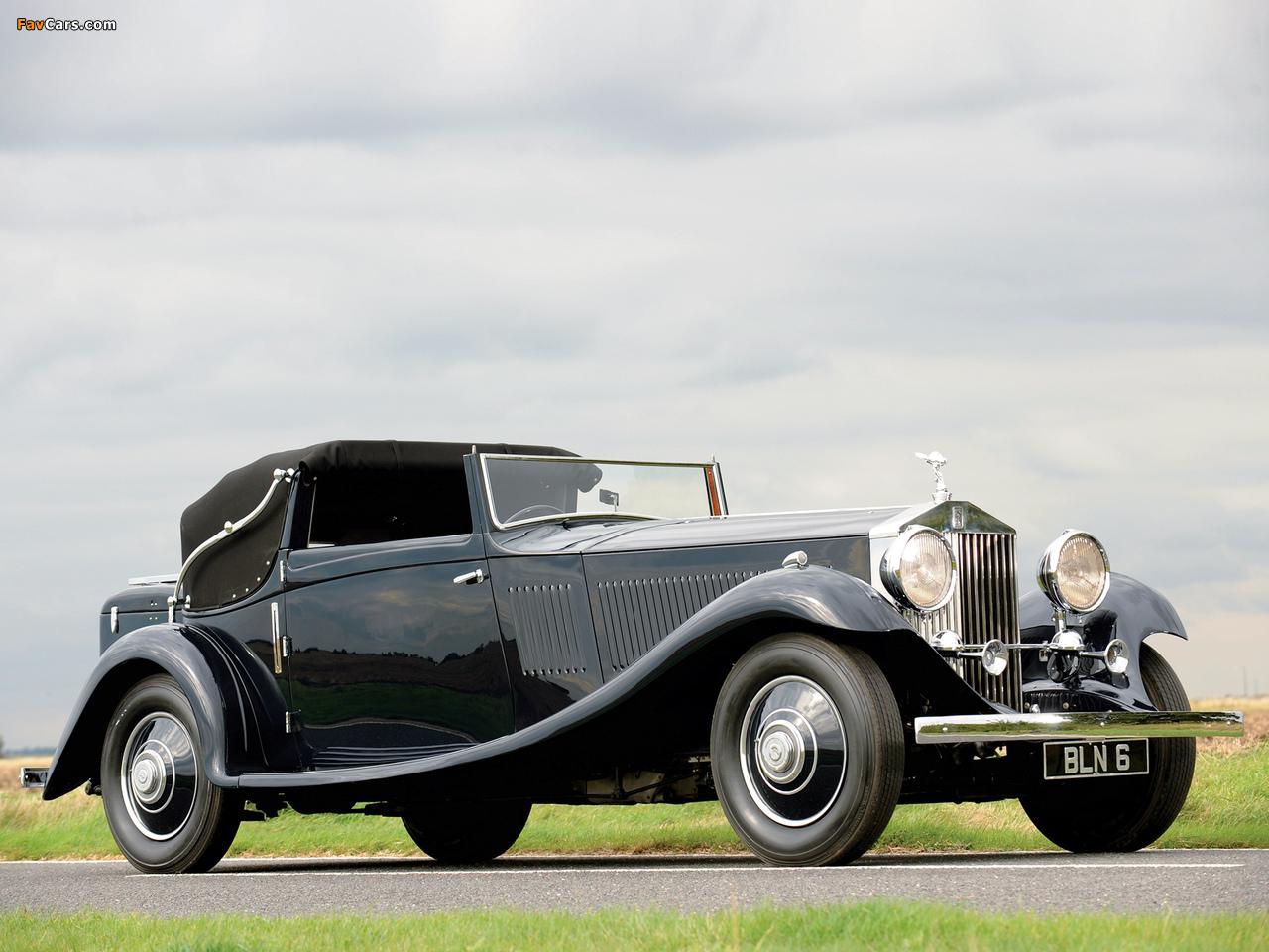 Rolls-Royce Phantom II Continental Drophead Coupe 1934 wallpapers (1280 x 960)