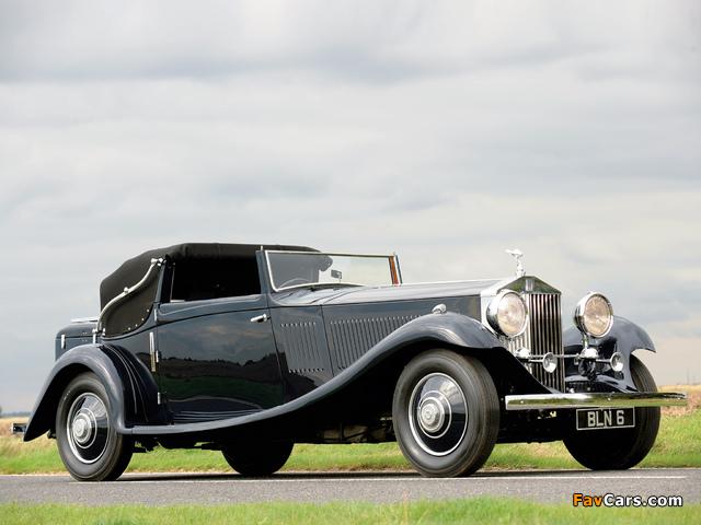 Rolls-Royce Phantom II Continental Drophead Coupe 1934 wallpapers (640 x 480)