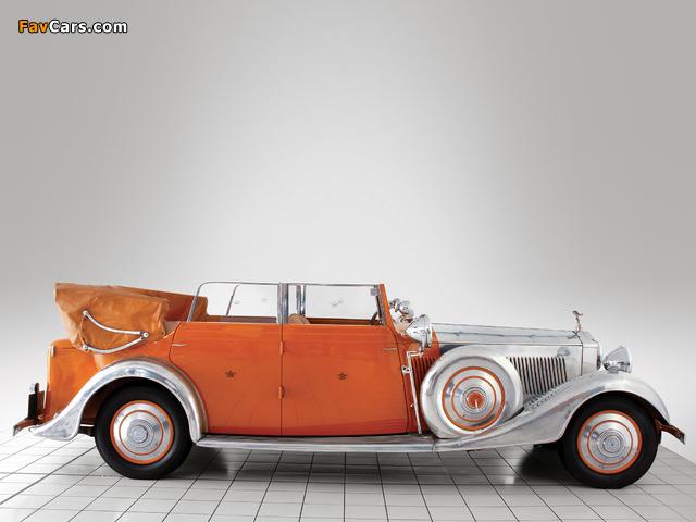 Rolls-Royce Phantom II 40/50 HP Cabriolet Star of India 1934 wallpapers (640 x 480)