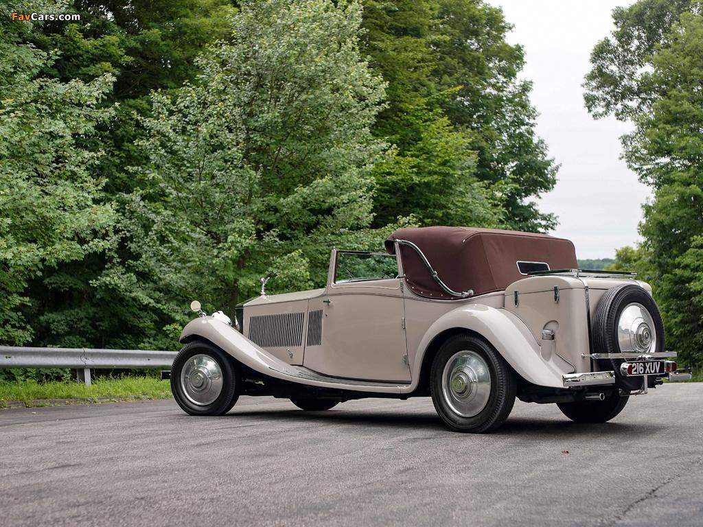 Rolls-Royce Phantom II Continental Owen Sedanca Coupe by Gurney Nutting 1934 wallpapers (1024 x 768)