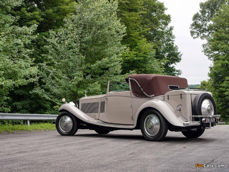 Rolls-Royce Phantom II Continental Owen Sedanca Coupe by Gurney Nutting 1934 wallpapers (800 x 600)