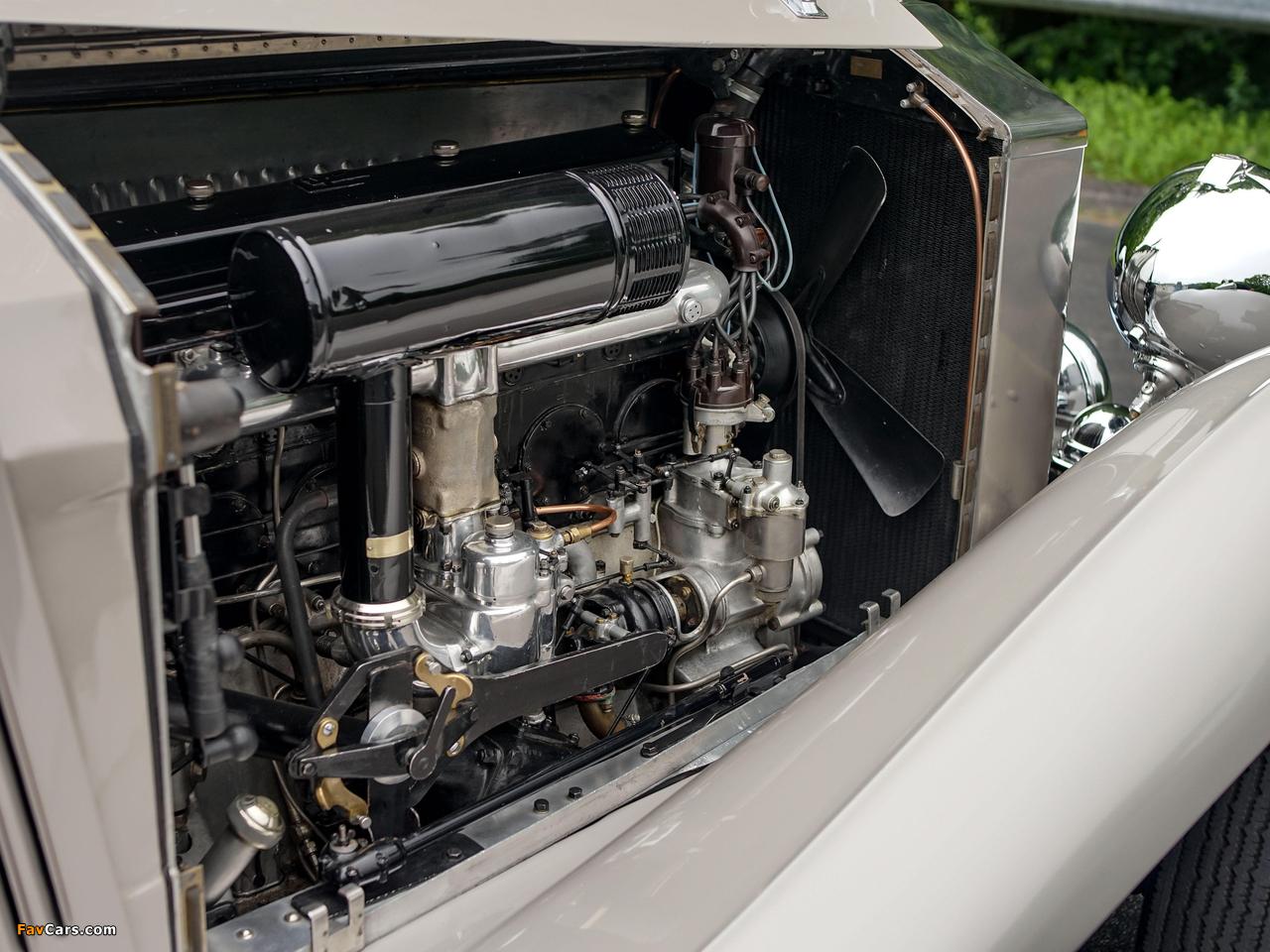 Rolls-Royce Phantom II Continental Owen Sedanca Coupe by Gurney Nutting 1934 wallpapers (1280 x 960)