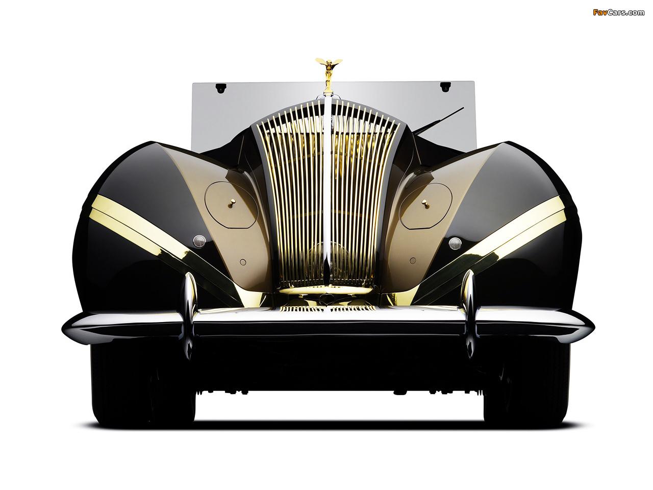 Rolls-Royce Phantom III Labourdette Vutotal Cabriolet 1947 wallpapers (1280 x 960)