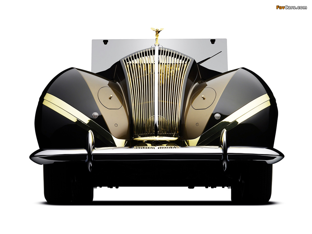 Rolls-Royce Phantom III Labourdette Vutotal Cabriolet 1947 wallpapers (1024 x 768)