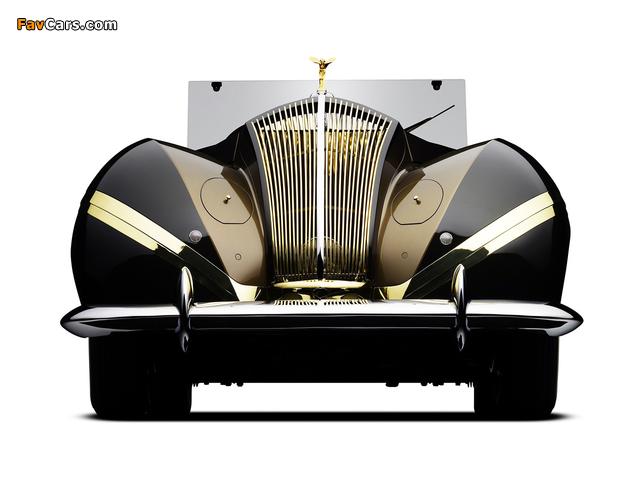 Rolls-Royce Phantom III Labourdette Vutotal Cabriolet 1947 wallpapers (640 x 480)
