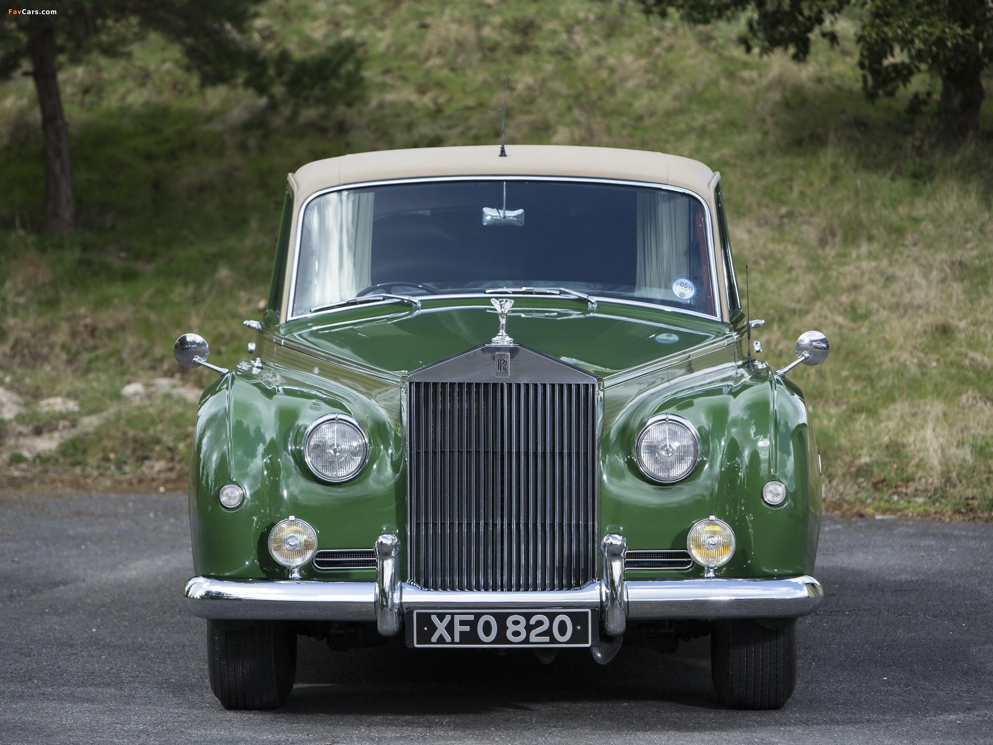 Rolls-Royce Phantom V Park Ward Limousine 1959–63 wallpapers (2048 x 1536)