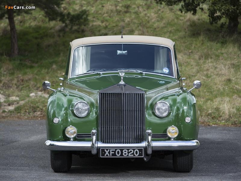 Rolls-Royce Phantom V Park Ward Limousine 1959–63 wallpapers (800 x 600)