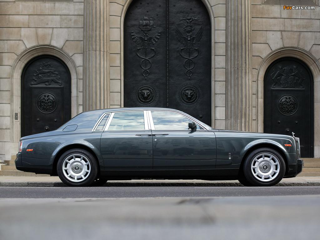 Rolls-Royce Phantom UK-spec 2003–09 wallpapers (1024 x 768)