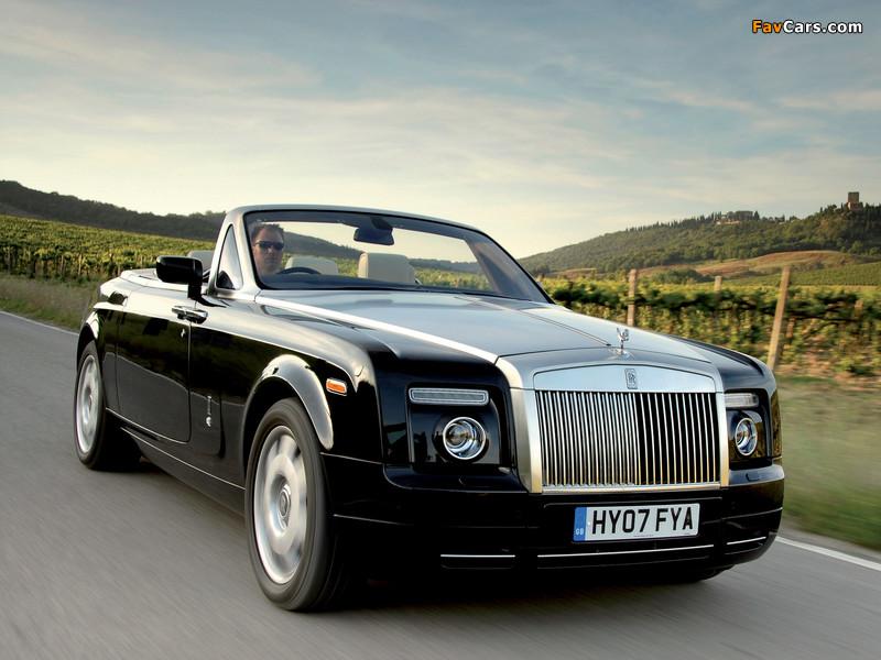 Rolls-Royce Phantom Drophead Coupe UK-spec 2008–12 wallpapers (800 x 600)