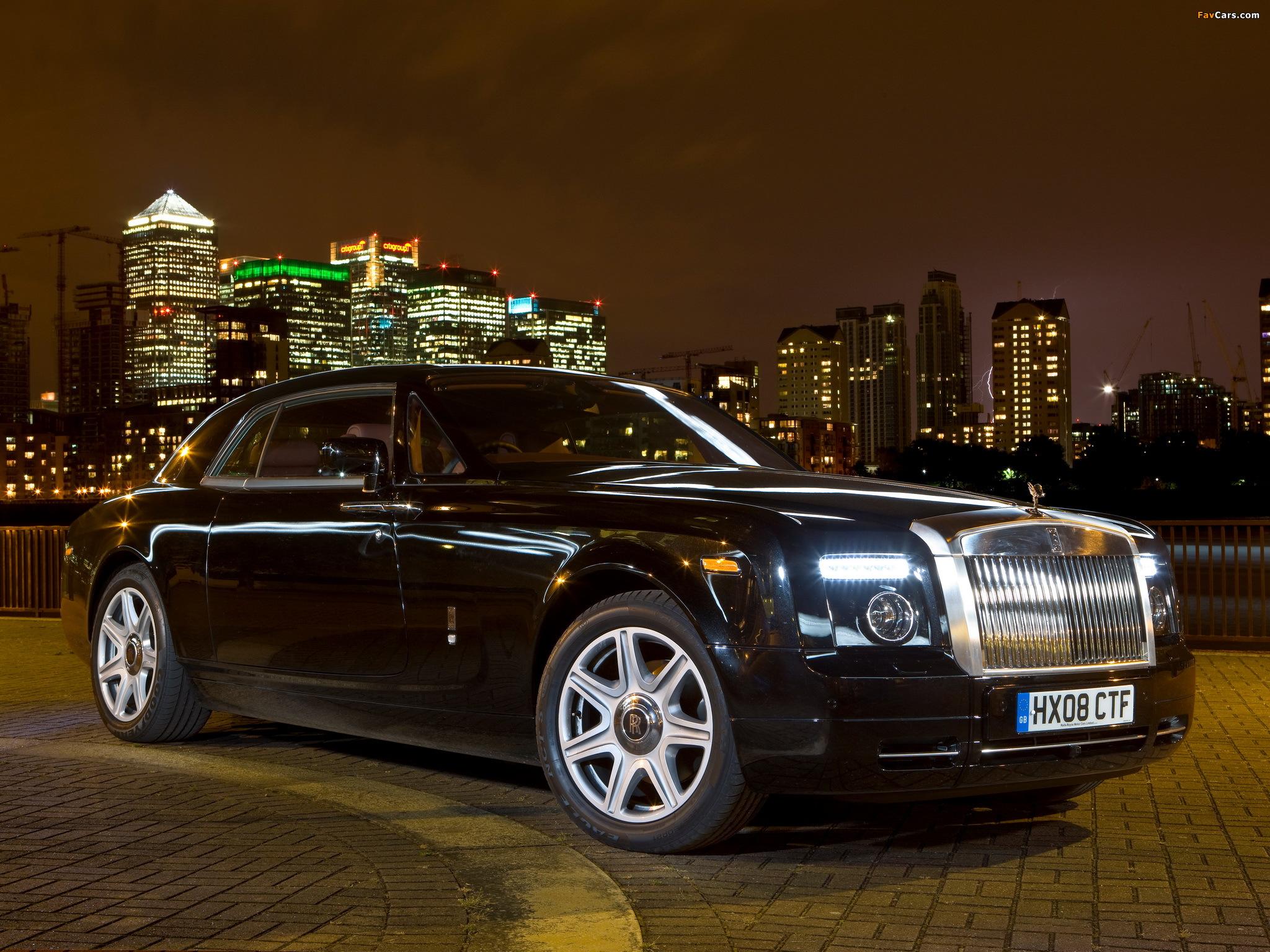 Rolls-Royce Phantom Coupe UK-spec 2009–12 wallpapers (2048 x 1536)