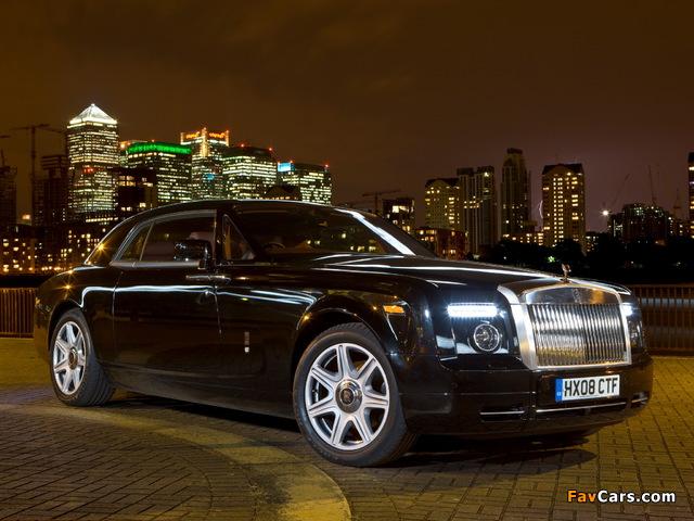 Rolls-Royce Phantom Coupe UK-spec 2009–12 wallpapers (640 x 480)