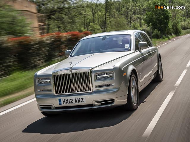 Rolls-Royce Phantom 2012 wallpapers (640 x 480)
