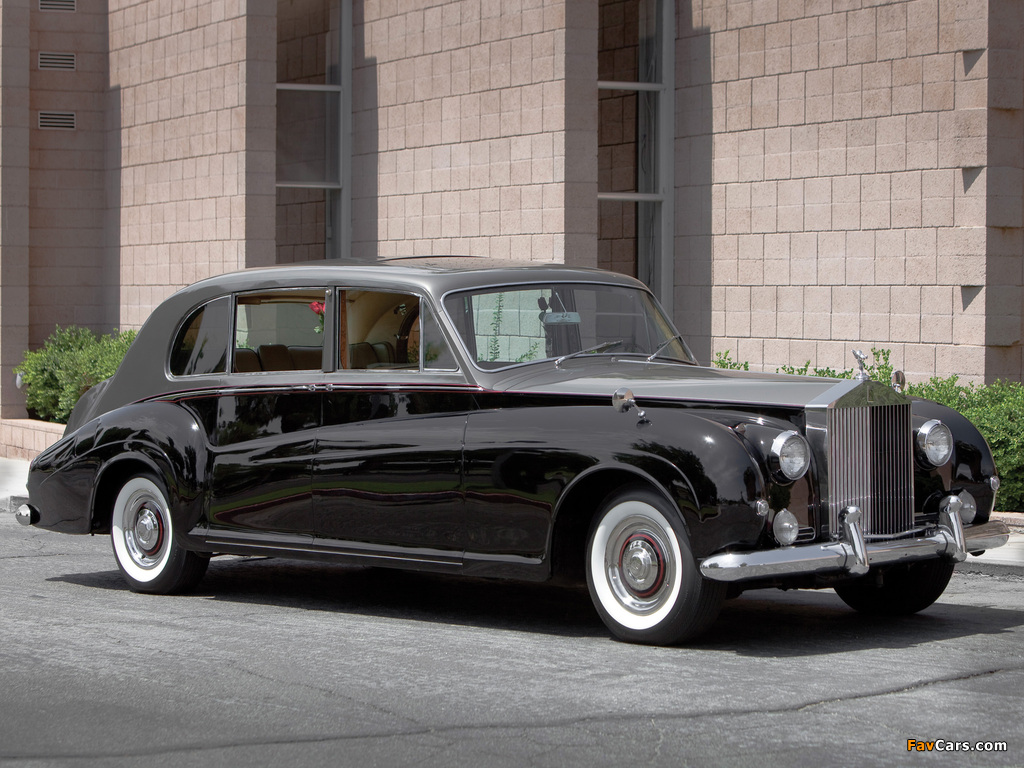 Rolls-Royce Phantom V Limousine by James Young 1959–63 wallpapers (1024 x 768)