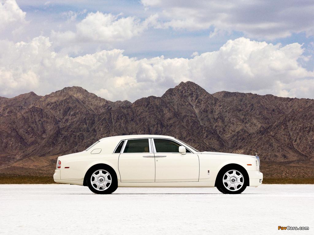 Rolls-Royce Phantom 2009 wallpapers (1024 x 768)