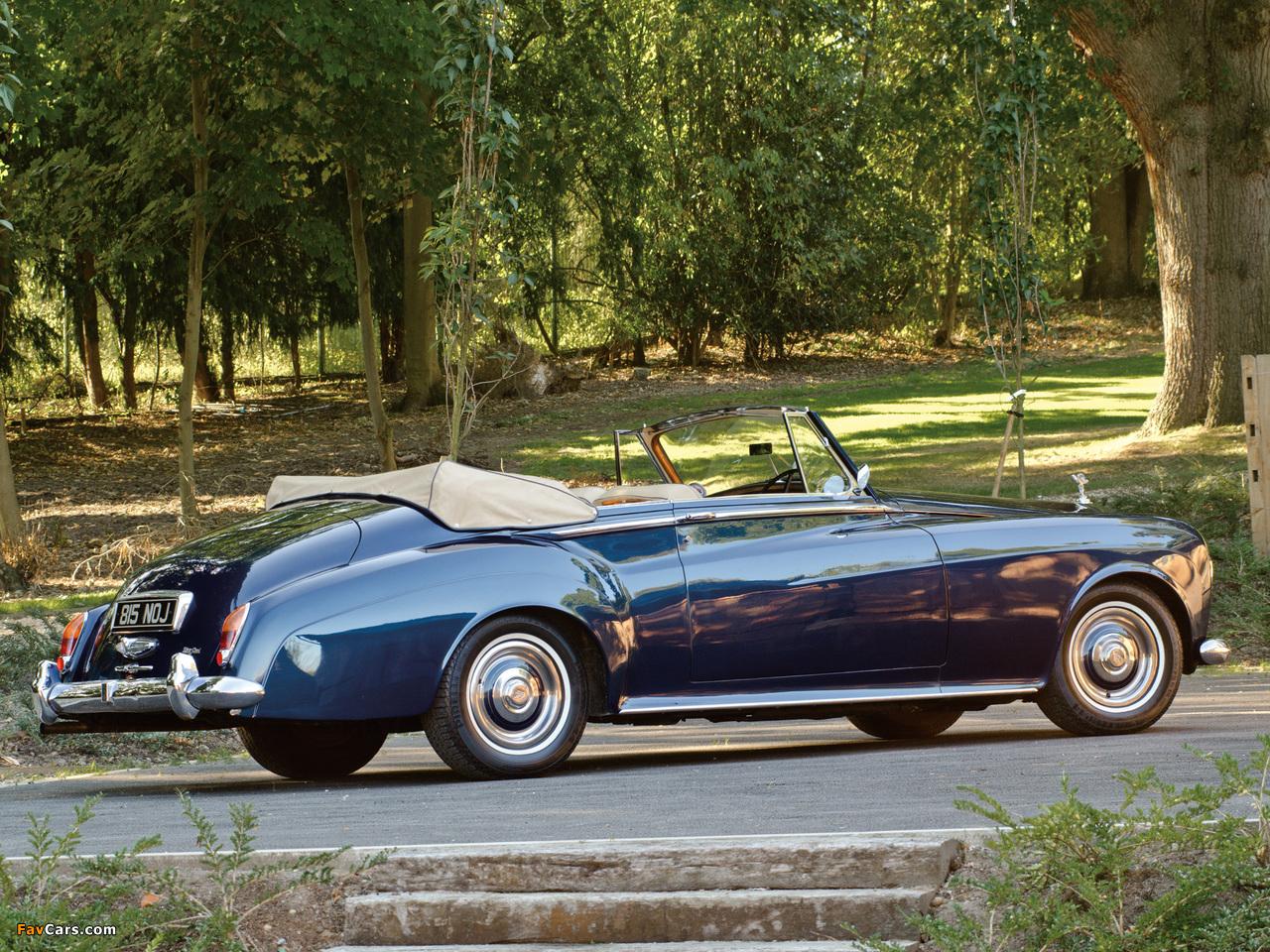 Photos of Rolls-Royce Silver Cloud Drophead Coupe UK-spec (III) 1962–66 (1280 x 960)