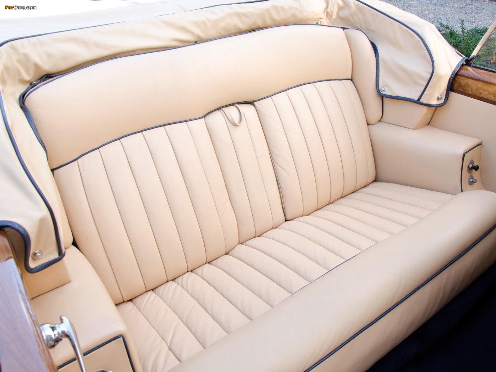 Photos of Rolls-Royce Silver Cloud Drophead Coupe UK-spec (III) 1962–66 (1600 x 1200)