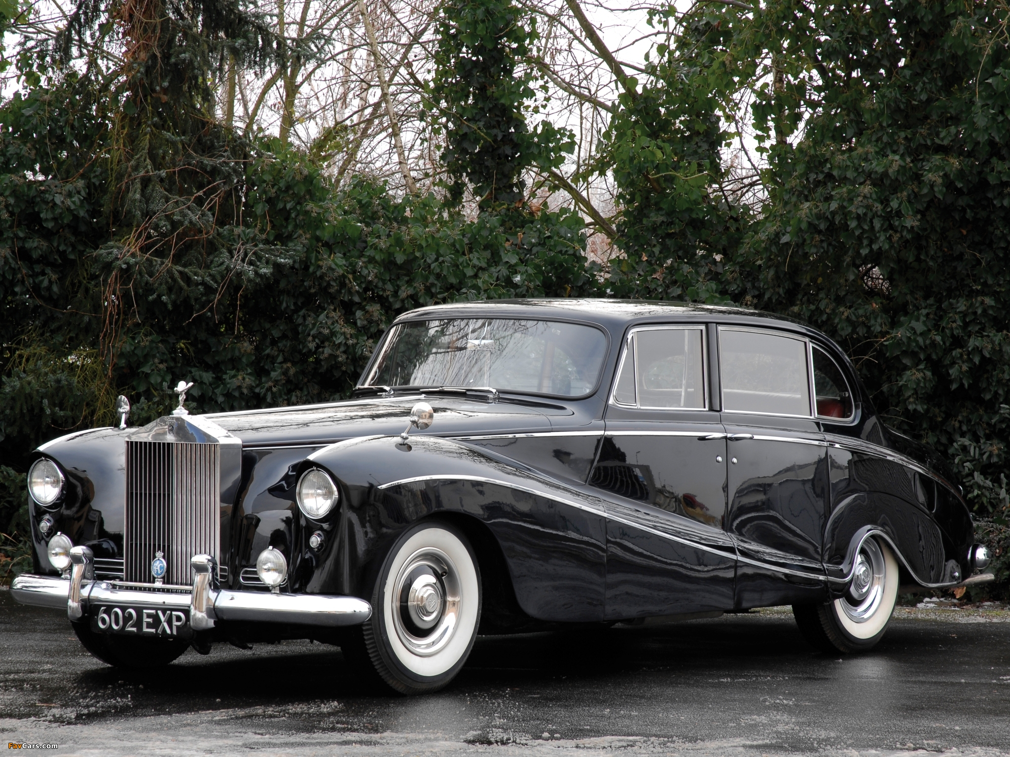 Pictures of Rolls-Royce Silver Cloud Empress Saloon by Hooper (I) 1956–58 (2048 x 1536)