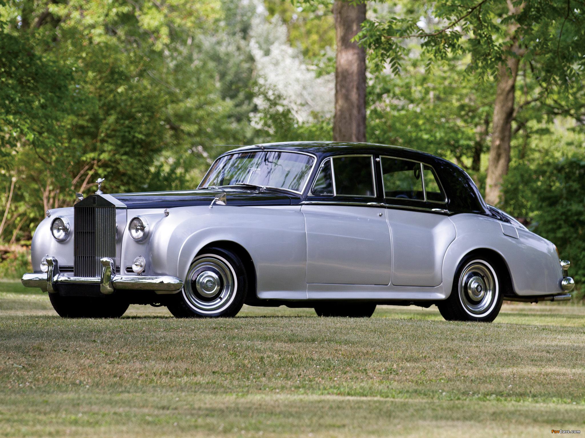 Rolls-Royce Silver Cloud (I) 1955–59 photos (2048 x 1536)