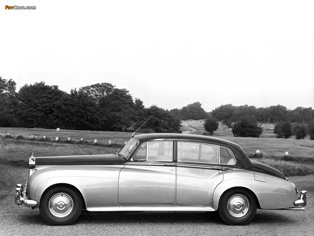 Rolls-Royce Silver Cloud LWB Saloon (II) 1959–62 images (1024 x 768)