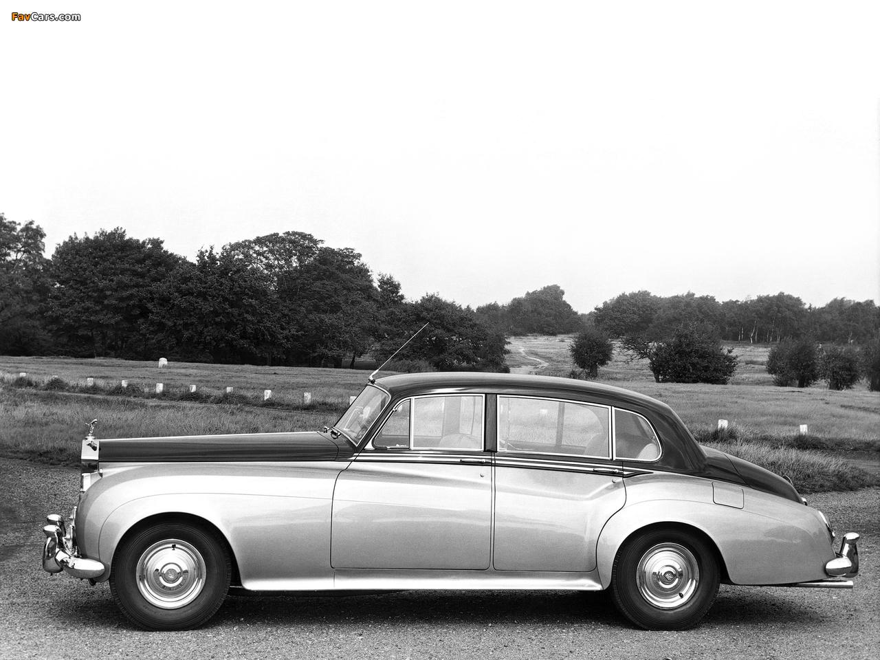 Rolls-Royce Silver Cloud LWB Saloon (II) 1959–62 images (1280 x 960)