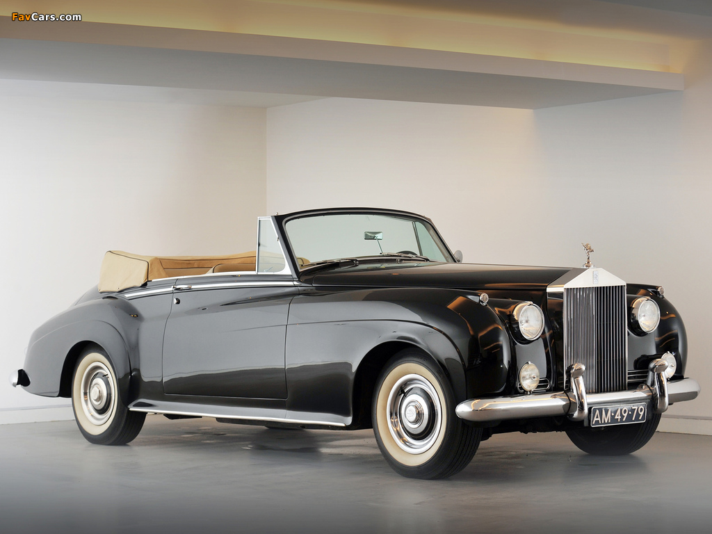 Rolls-Royce Silver Cloud Drophead Coupe by Mulliner (II) 1959–62 photos (1024 x 768)