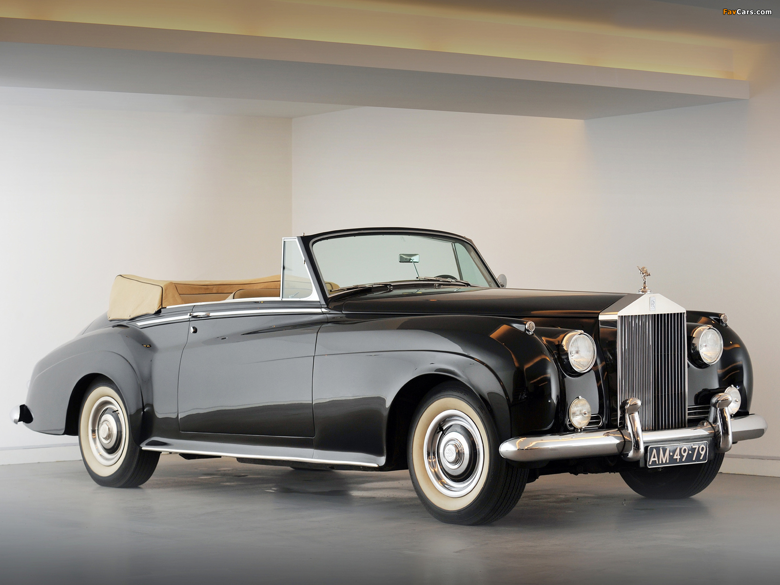 Rolls-Royce Silver Cloud Drophead Coupe by Mulliner (II) 1959–62 photos (1600 x 1200)