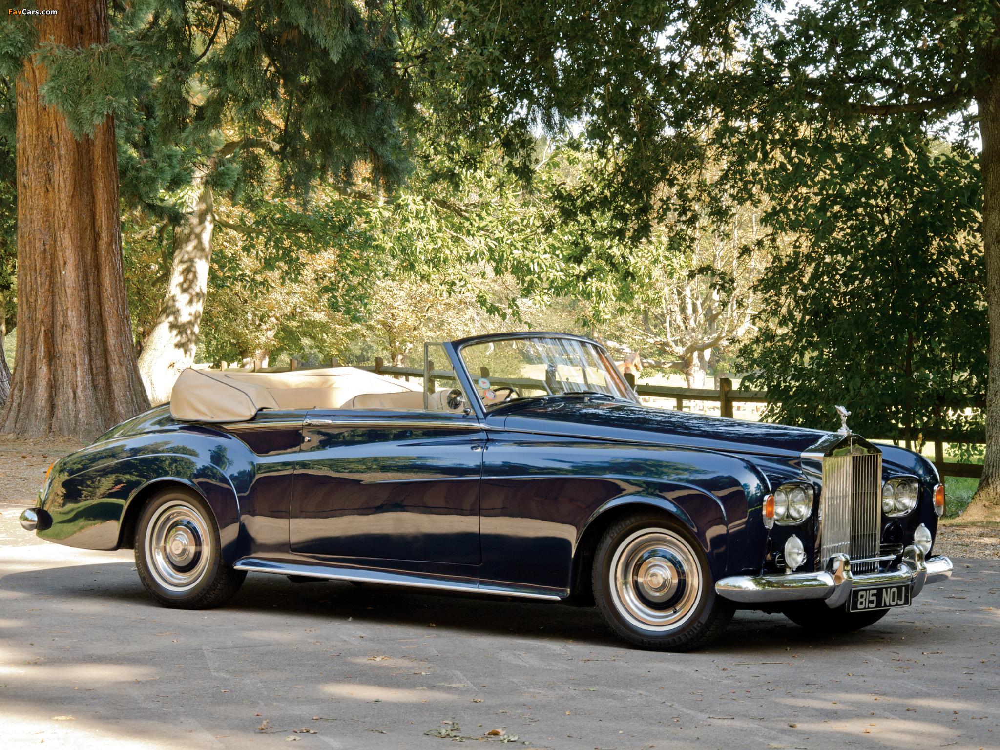 Rolls-Royce Silver Cloud Drophead Coupe UK-spec (III) 1962–66 photos (2048 x 1536)