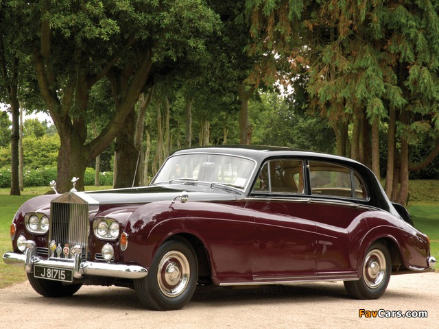 Rolls-Royce Silver Cloud LWB Saloon by James Young (III) 1962–65 wallpapers (640 x 480)