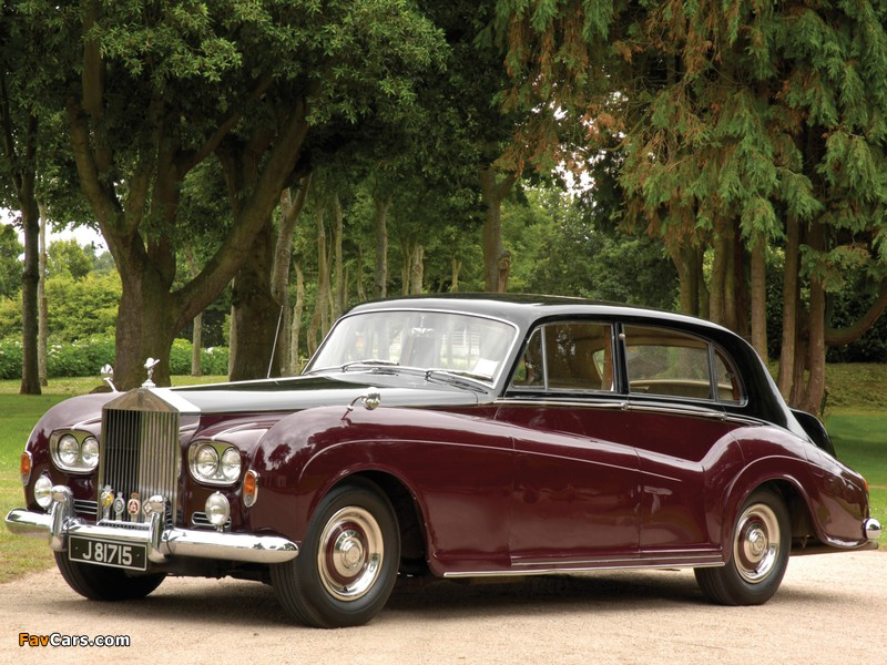 Rolls-Royce Silver Cloud LWB Saloon by James Young (III) 1962–65 wallpapers (800 x 600)