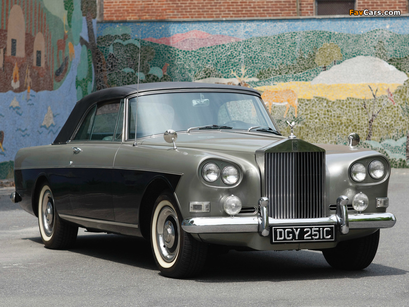 Rolls-Royce Silver Cloud Mulliner Park Ward Drophead Coupe (III) 1966 images (800 x 600)