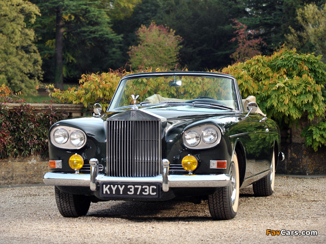 Rolls-Royce Silver Cloud Mulliner Park Ward Drophead Coupe (III) 1966 images (640 x 480)