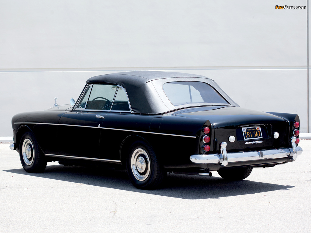 Rolls-Royce Silver Cloud Mulliner Park Ward Drophead Coupe (III) 1966 pictures (1024 x 768)