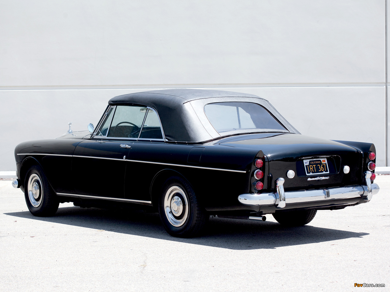 Rolls-Royce Silver Cloud Mulliner Park Ward Drophead Coupe (III) 1966 pictures (1280 x 960)