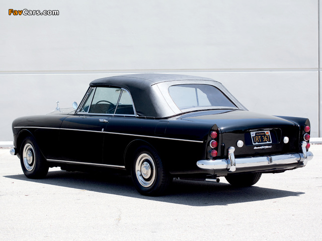 Rolls-Royce Silver Cloud Mulliner Park Ward Drophead Coupe (III) 1966 pictures (640 x 480)