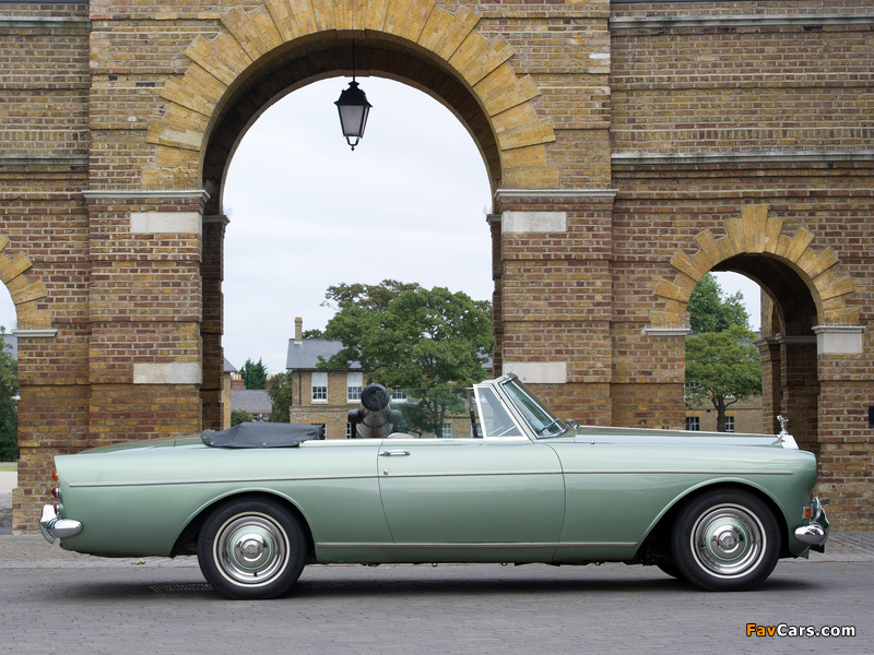 Rolls-Royce Silver Cloud Mulliner Park Ward Drophead Coupe UK-spec (III) 1966 wallpapers (800 x 600)