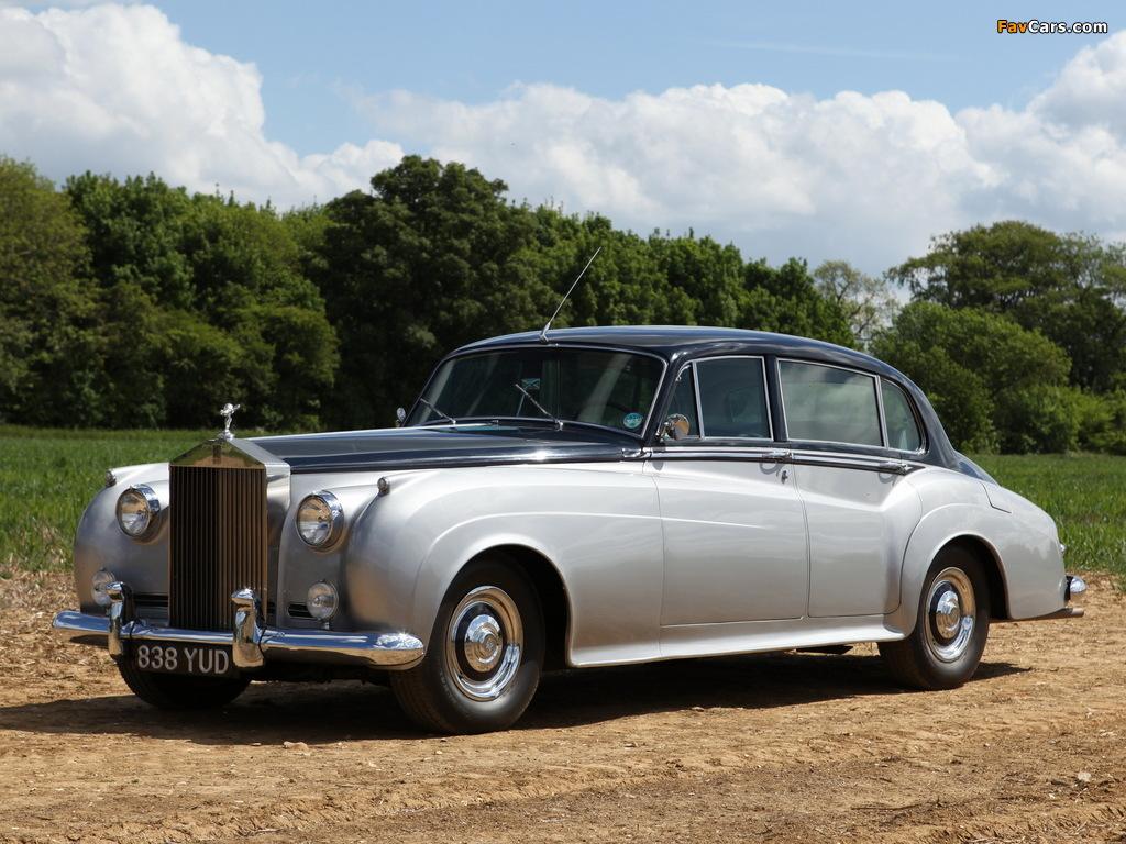 Rolls-Royce Silver Cloud EWB (I) 1955–59 photos (1024 x 768)