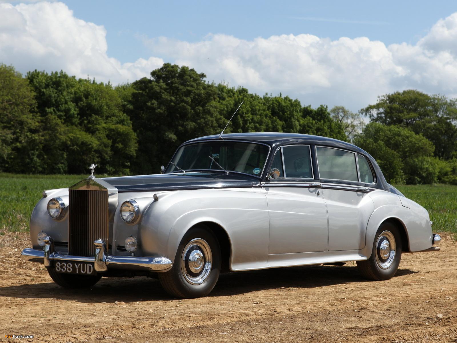 Rolls-Royce Silver Cloud EWB (I) 1955–59 photos (1600 x 1200)